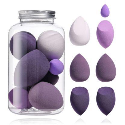 Picture of Purple Makeup Sponge set 7 Pcs